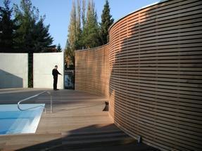 Holzwand Garten war genial stil für ihr haus ideen